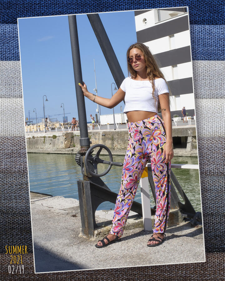 INGRID-JV100 FANTASIA FLOREALE ROSA
