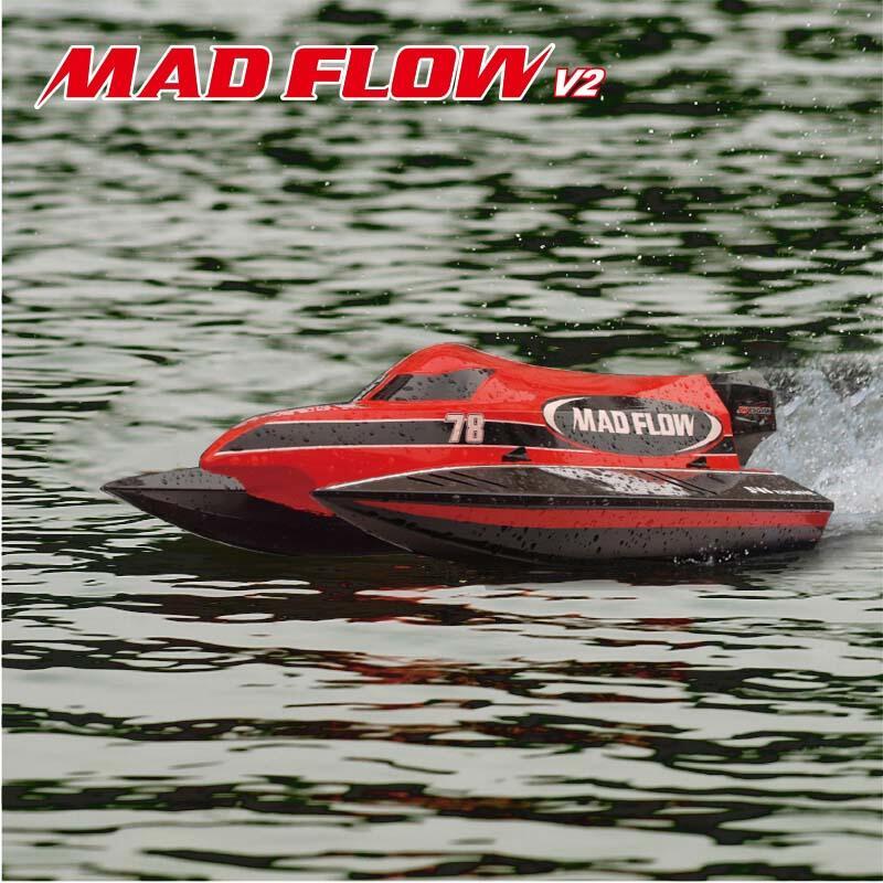 Catamarano Radiocomandato MadFlow R/C con Scafo in ABS di Joysway - Offerta di Mondo Nautica 24