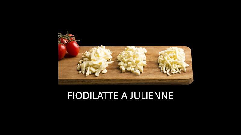 FIORDILATTE JULIENNE PER PIZZA 1,5KG