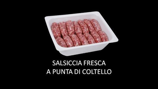 SALSICCIA FRESCA PUNTA DI COLTELLO 1,5KG SOTTOVUOTO