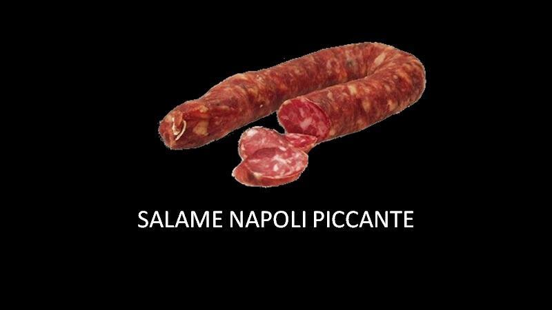 SALSICCIA NAPOLI PICCANTE 400GR SOTTOVUOTO