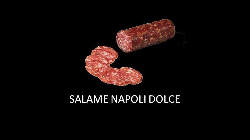 SALSICCIA NAPOLI DOLCE 400GR SOTTOVUOTO