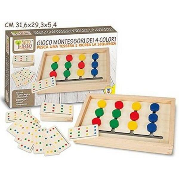 Gioco Montessori dei 4 colori - Teorema 40549 - 3+