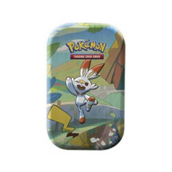 Mini Tin Amici di Galar SCORBUNNY - Pokemon 210-60070 - 6+ anni