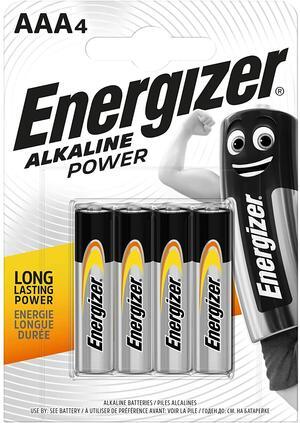 ENERGIZER BATTERIA ALKALINE POWER AAA BL 4 SC 12