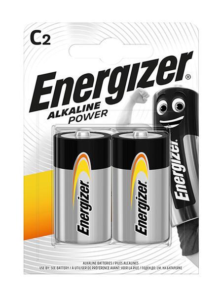 ENERGIZER BATTERIA ALKALINE POWER C BL 2 SC 6