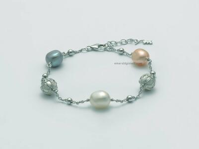 PBR3081 Bracciale di perle miluna