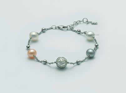 PBR3075 Bracciale di perle miluna