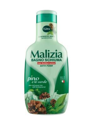 Bagnoschiuma Malizia Pino e tè Verde 1Lt