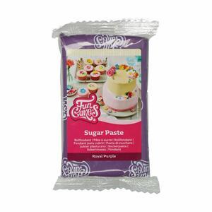 Pasta di zucchero FunCakes viola 250 gr