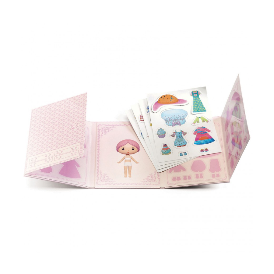 Miss Lilypink scenario con sticker