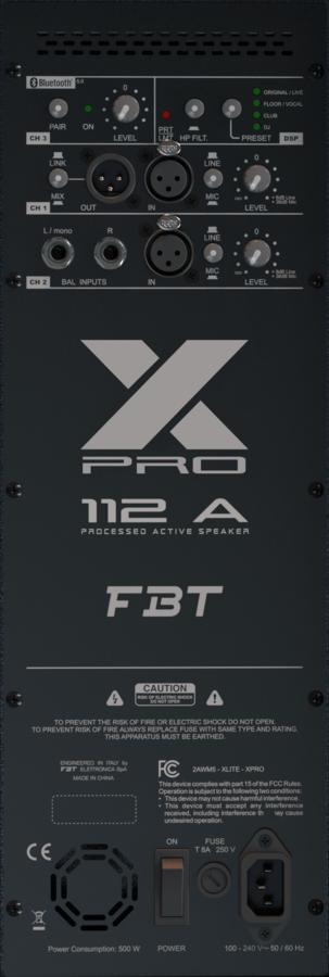 Fbt X-PRO 112A