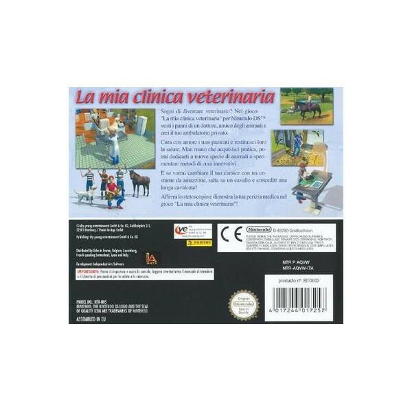 La Mia Clinica Veterinaria NUOVO! - Nintendo DS - Ver. ITA