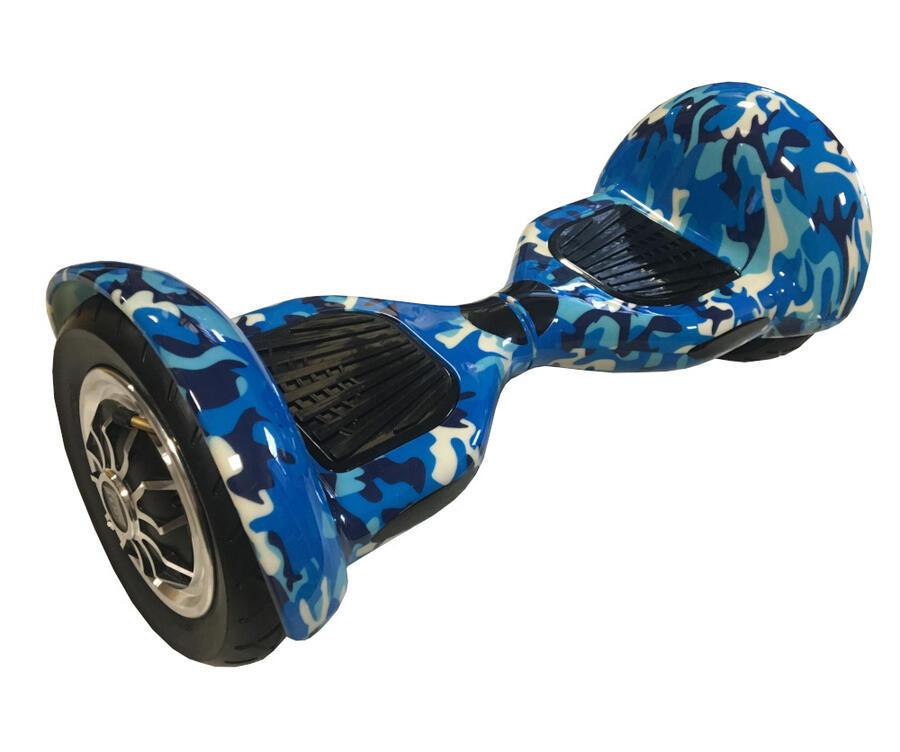 "Hoverboard con ruote da 10"" pollici a camera d'aria - Sabway S10- Graffiti blue"