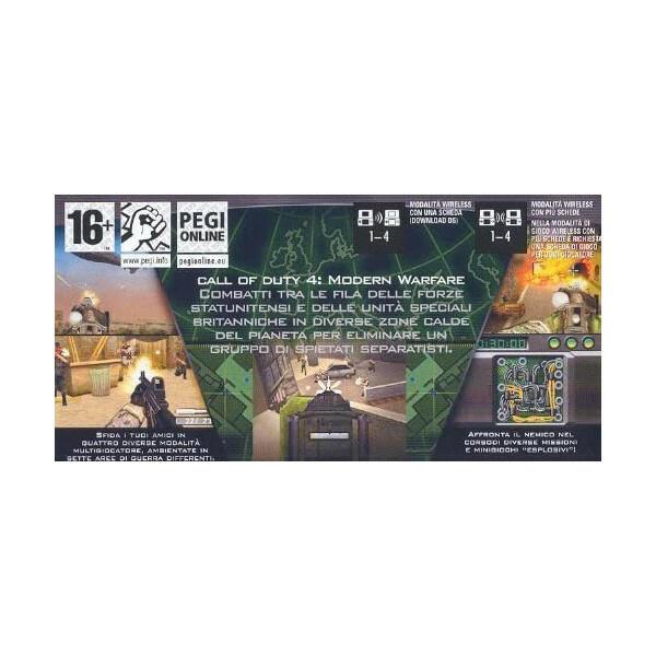 Call Of Duty 4 Modern Warfare NUOVO! - Nintendo DS - Ver.ITA