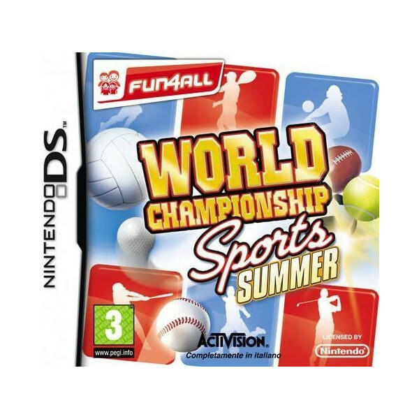 World Championship Sports Summer NUOVO - Nintendo DS - Ver.ITA