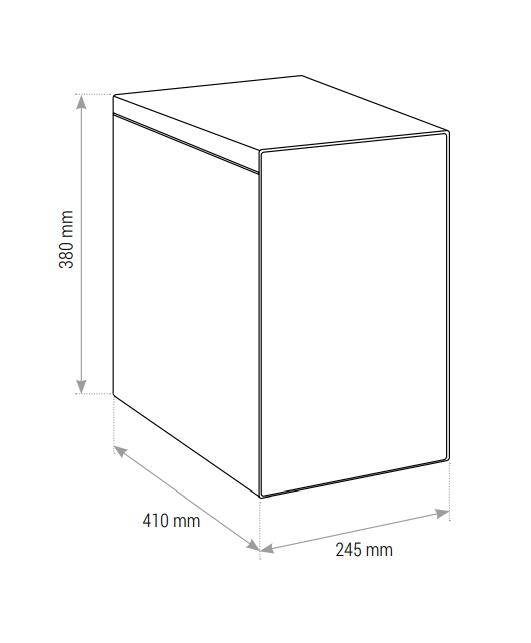 Osmo Frigo depuratore ad osmosi inversa con refrigeratore sottolavello