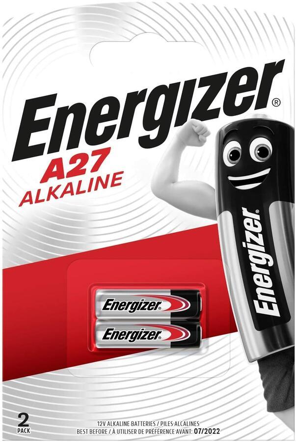 ENERGIZER BATTERIA ALKALINE A27 BL 2 SC 10