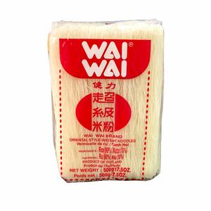 WAIWAI RICE VERMICELLI 500GR