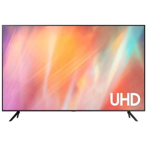 "SAMSUNG TV LED Ultra HD 4K 43"" UE43AU7172 Smart TV Tizen Grigio - Google + Alexa"