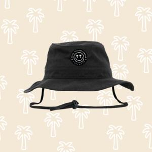 "Angler Hat ""SURFWEEK"" - Nero"
