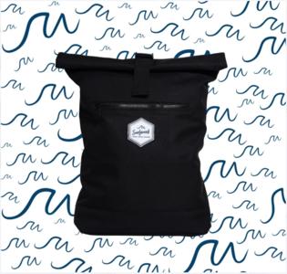"""Backpack """"SURFWEEK"""" - Nero"""