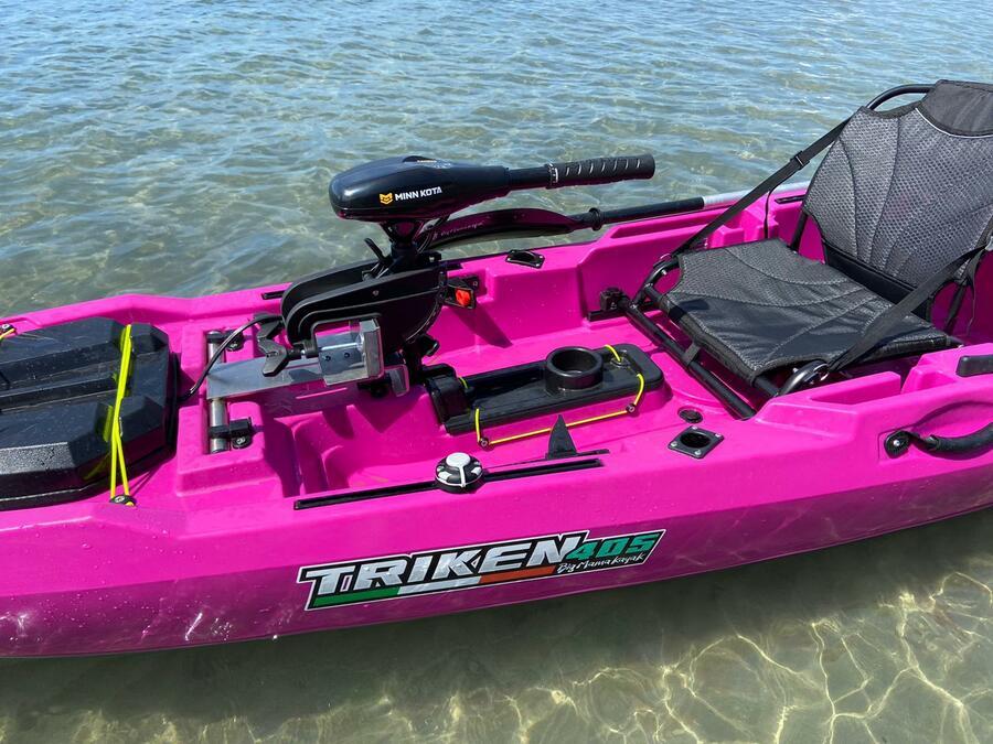 Minn Kota Endurance Max 40 12v -  Cod.jm-1352140m - 12V + Supporto motore inox centrale mod. TUM per TRIKEN 405