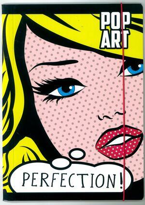 CARTELLINA 3 LEMBI CON ELASTICO LINEA POP ART