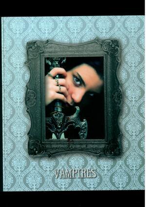 QUADERNONE A 4 ANELLI DIAM. 30 MM COPERTINA LINEA vampiri