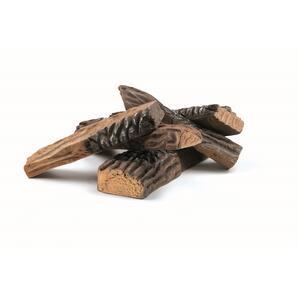 5 Pezzi di Legno Grandi Decorativi per Biocamini