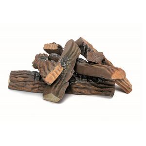 9 Pezzi di Legno Decorativi per Biocamini