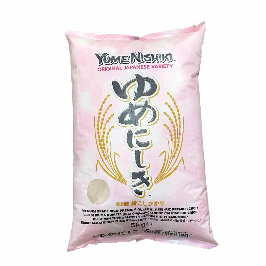 YUME NISHIKI RICE - RISO PER SUSHI 5KG