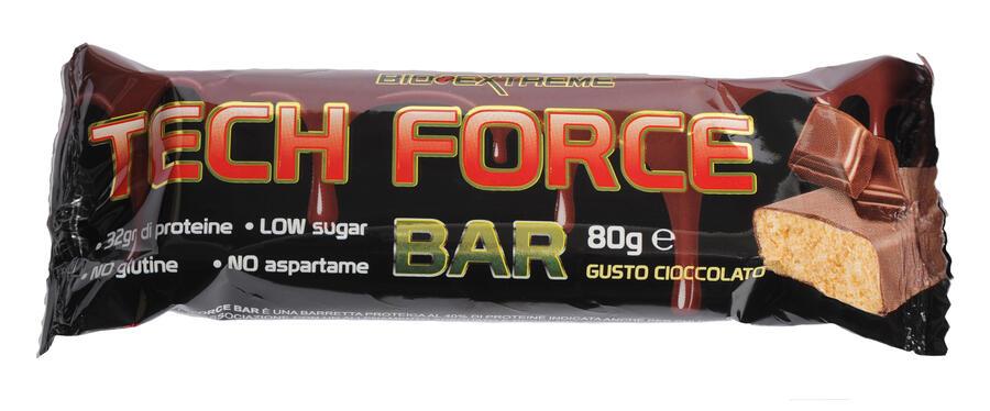 TECH FORCE bar - Barrette proteiche 80 g - 32 g di proteine