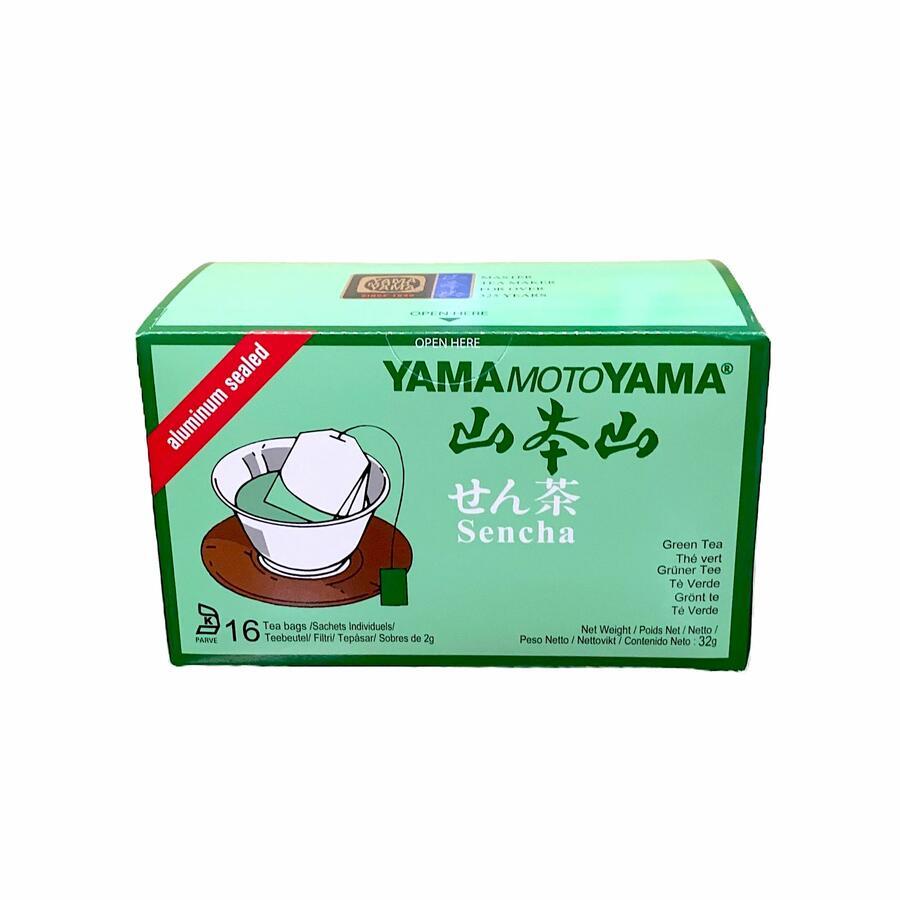 YMY GREEN TEA TEABAG 16PC 32GR