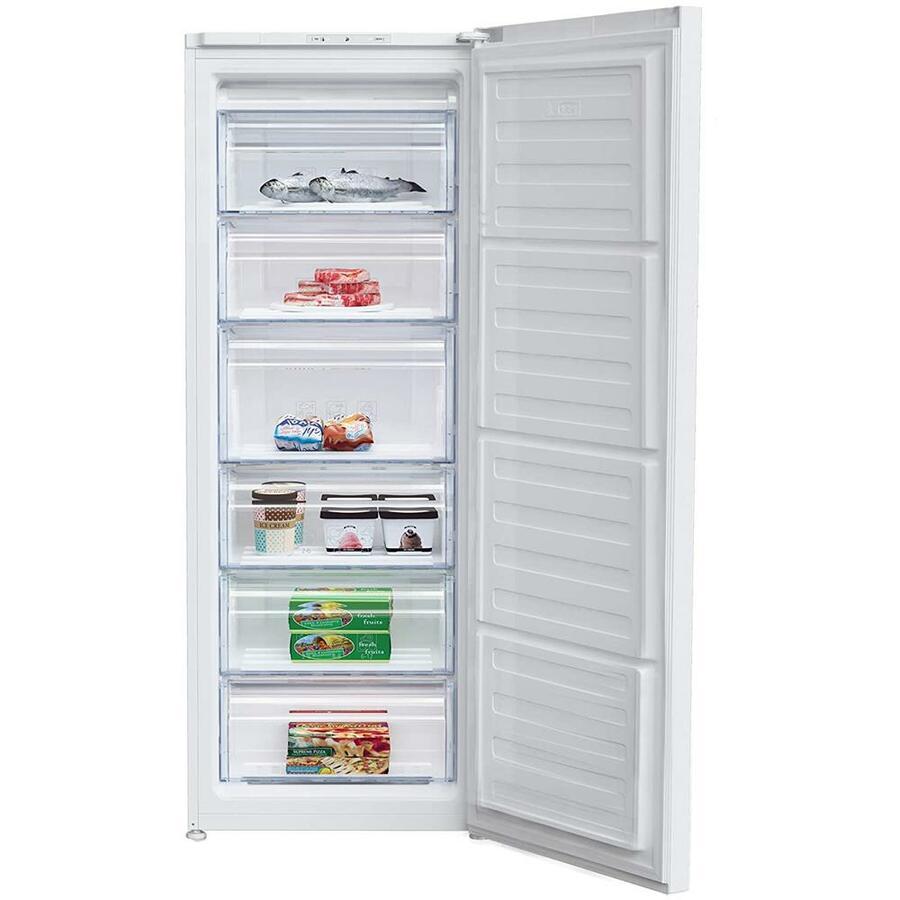 BEKO Congelatore Verticale RFSA210K30WN Classe A+ Capacità Lorda / Netta 210/168 Litri Colore Bianco