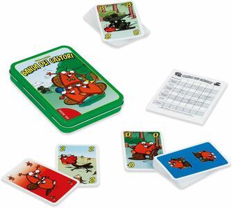 Gioco Carte - Banda dei castori su scatola di latta - Dal Negro 53551
