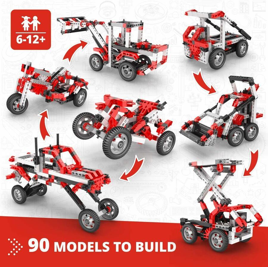 90 modelli in 1 Costruzioni - Engino 9030