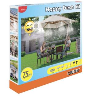 Happy Fresh Kit Irrigazione 7,5 mt Claber