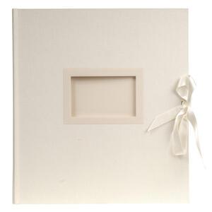 Album libro per 300 foto - 60 pagine bianche - KINGSBRIDGE - 29x32cm - Avorio