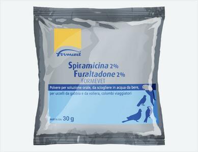 Fuspir 30gr Furaltadone 2% Spiramicina 2% FORMEVET