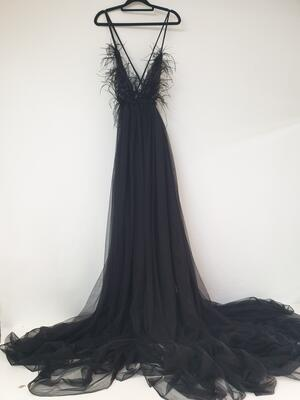 BLACK SWAN MATERNITY DRESS