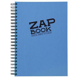 Blocco da schizzo ZAP BOOK spiralato A4 da 160 fogli 80 gr copertina colorata
