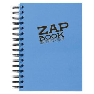 Blocco da schizzo ZAP BOOK spiralato A5 da 160 fogli 80 gr copertina colorata