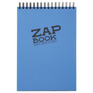 Blocco da schizzo ZAP BOOK spiralato A4 da 160 fogli 80 gr copertina colorata orientamento verticale