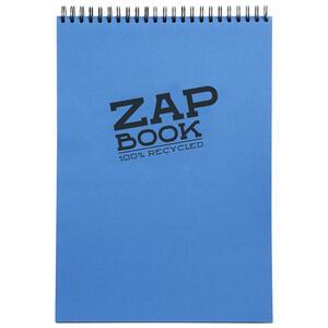Blocco da schizzo ZAP BOOK spiralato A3 da 120 fogli 80 gr copertina colorata orientamento verticale