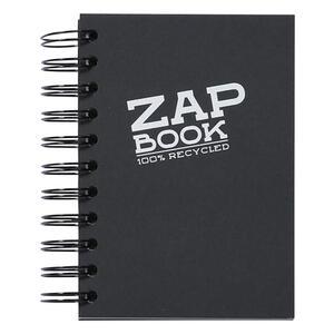 Blocco da schizzo ZAP BOOK spiralato A6 da 160 fogli 80 gr nero