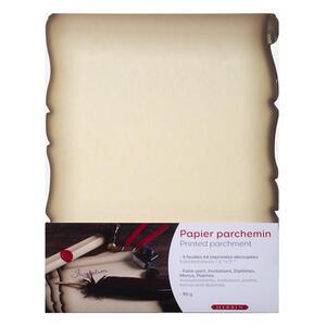 Confezione carta pergamena - 5 fogli A4