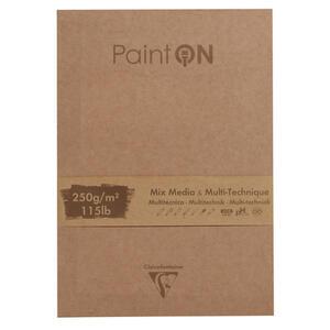 Blocco da disegno PAINT ON 17,6x25 da 50 fogli, 250 gr