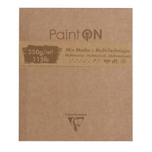 Blocco da disegno PAINT ON 13,3x15,7 da 50 fogli, 250 gr