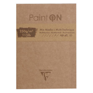 Blocco da disegno PAINT ON 10,5x14,8 da 50 fogli, 250 gr